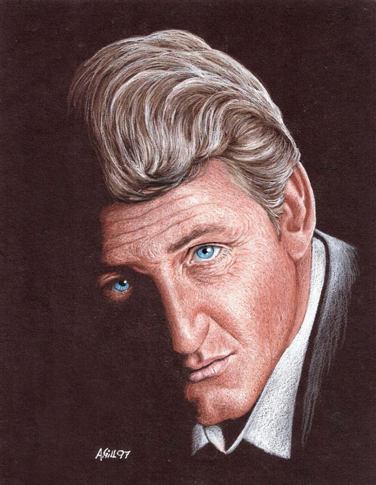 Sean Penn by AndyGill